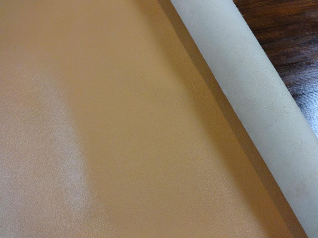 ピコターノ 牛本革 本牛革 革材料 革 皮 皮革 日本製 キャメル