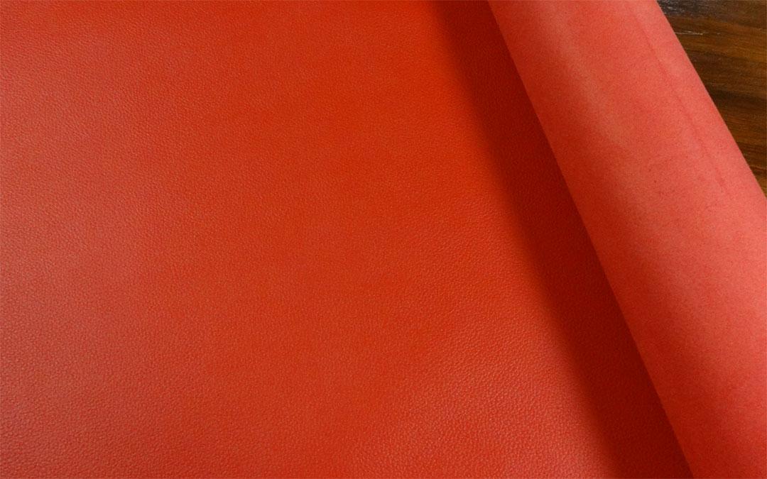 ピコターノ 牛本革 本牛革 革材料 革 皮 皮革 日本製 レッド