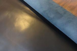 ビオレ スムース 牛本革 本牛革 革材料 革 皮 皮革 日本製 ブラック