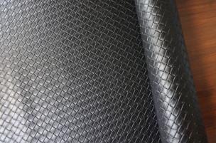 メッシュ(型押し) 牛本革 本牛革 革材料 革 皮 皮革 日本製 ブラック