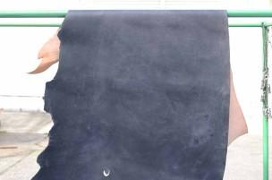 半裁 牛本革 本牛革 革材料 革 皮 皮革 日本製 ネイビー1
